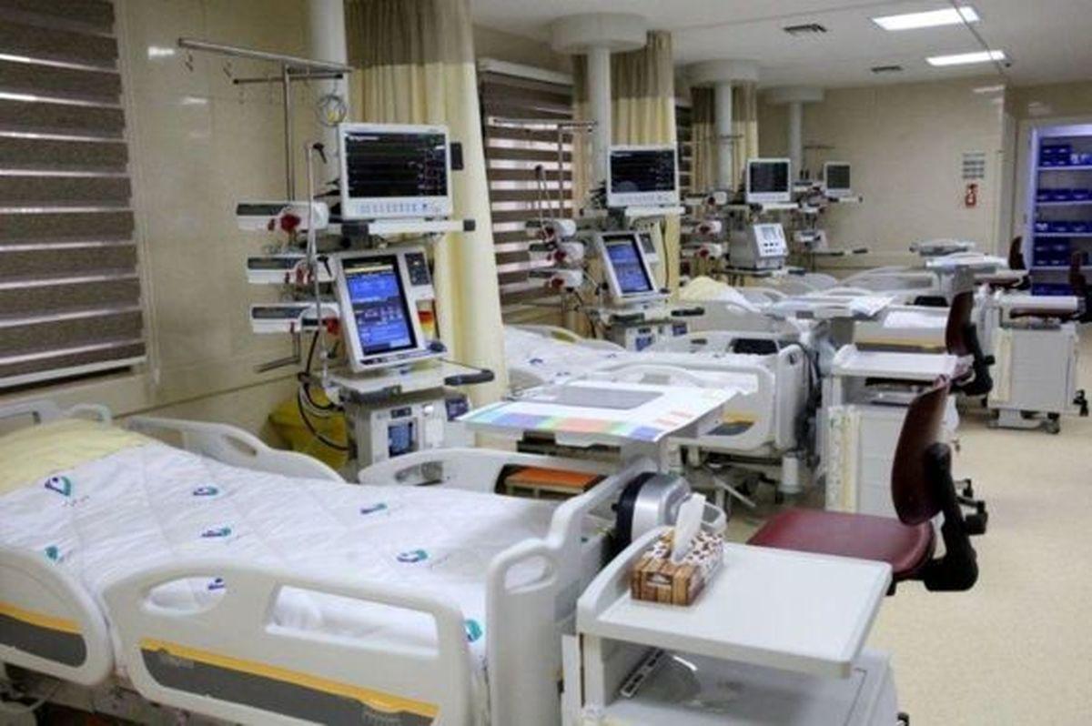 بیمارستان کیش خالی از بیمار بستری کرونا