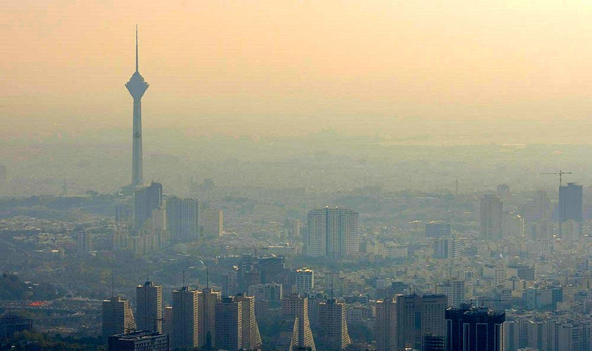 هوای تهران در وضعیت قرمز قرار دارد