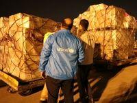 اولین محموله کمکهای یونیسف وارد ایران شد