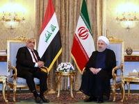 دیدار رئیسجمهور با نخست وزیر عراق به روایت تصویر
