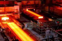 افزایش تولید شمش فولاد و محصولات فولادی