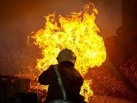 آتش سوزی مرگبار در مجتمع مسکونی در میانه