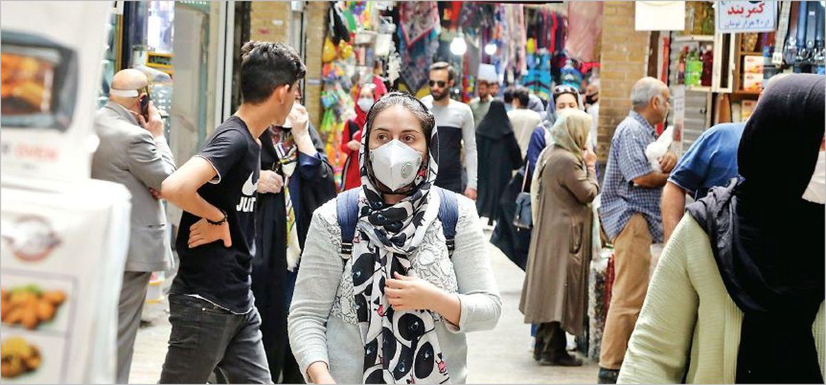 منحنی صعودی کرونا در تهران
