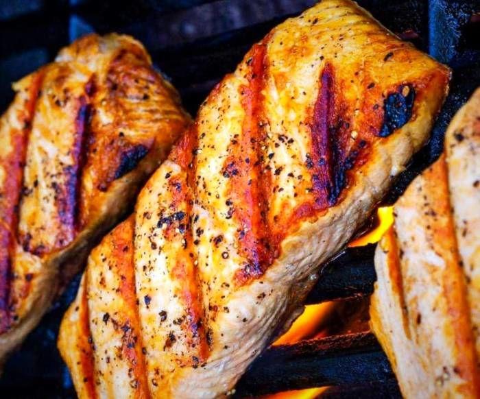 ماهی سالمون برای لاغری