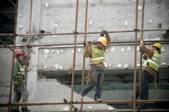 حذف بیمه 22 هزار کارگرنما از بخش ساختمانی