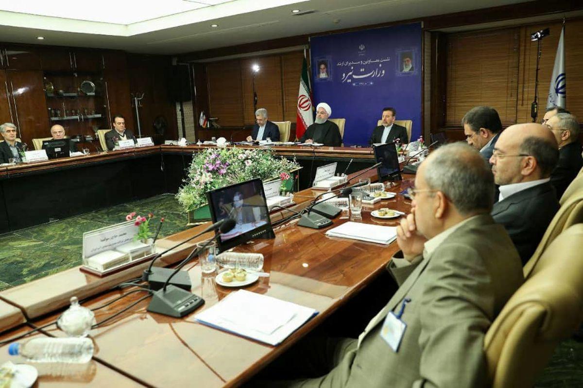 روحانی: تامین آب و برق، برای امنیت و آرامش خاطر مردم ضروری است/ مبنای اداره منابع آبی کشور را باید بر پایه ادامه خشکسالی گذاشت