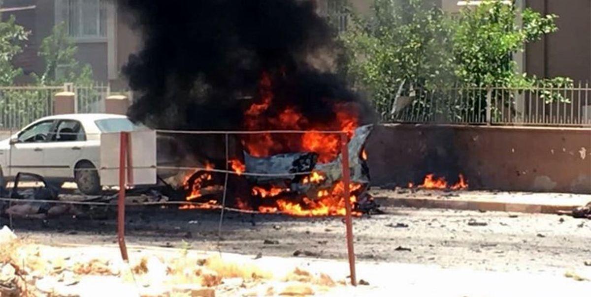 چهار کشته و زخمی بر اثر انفجار در جنوب ترکیه +عکس
