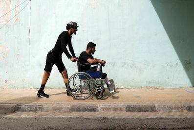 زندگی معلولان جنگی سوریه