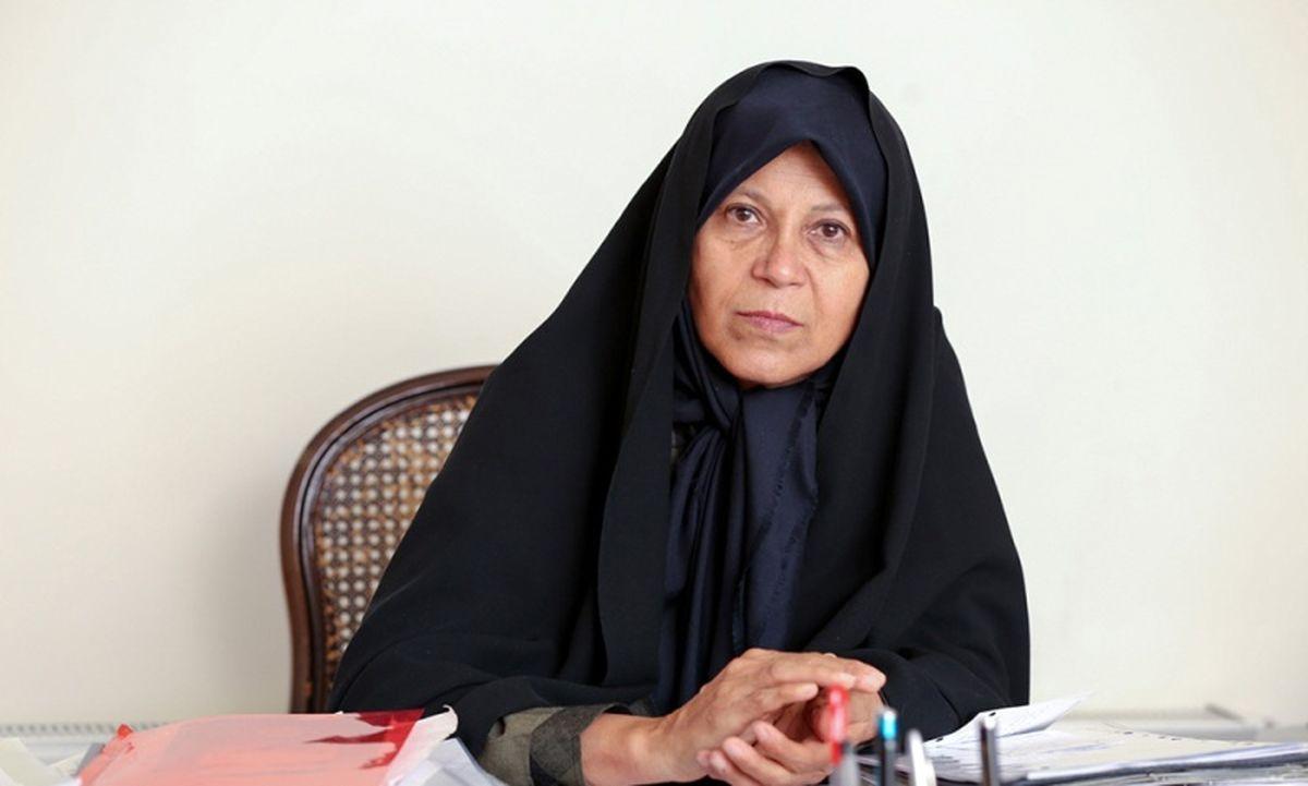 فائزه هاشمی برای انتخابات ریاست جمهوری اعلام کاندیداتوری کرد