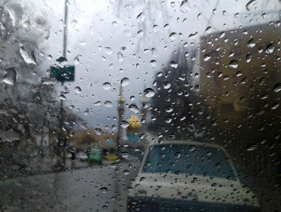 بارش باران شدید در ۹استان کشور