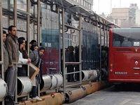 برخی اتوبوسهای تهران با دو مسافر خدمترسانی میکنند/نامهنگاری با دولت برای جبران خسارت