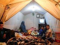 زندگی زلزلهزدگان کرمانشاه در چادر +تصاویر