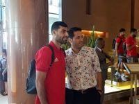 تیم ملی فوتبال ایران به دوبی رسید
