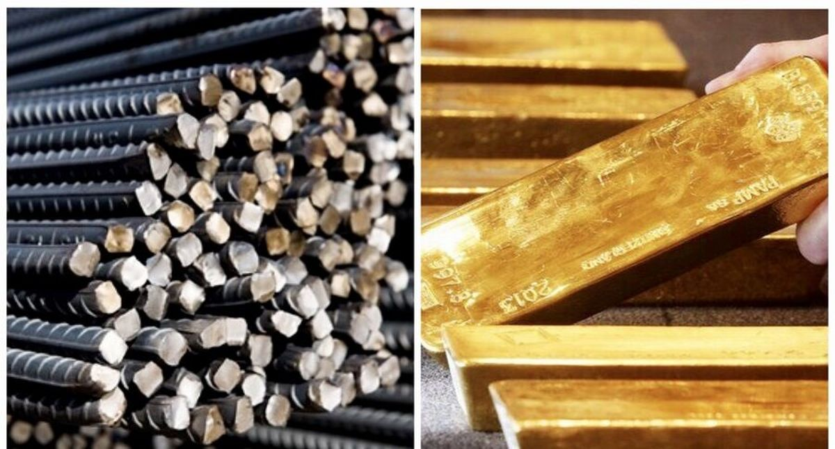 پذیرش میلگرد و شمش طلای دو شرکت در بازار اصلی بورس کالا