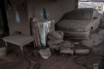 ردی از زندگی در خاکسترهای آتشفشان گواتمالا