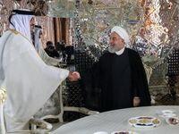 روحانی و امیر قطر دیدار کردند +عکس