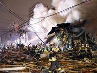 انفجار رستوران در ژاپن ۴۰ زخمی برجای گذاشت +تصاویر