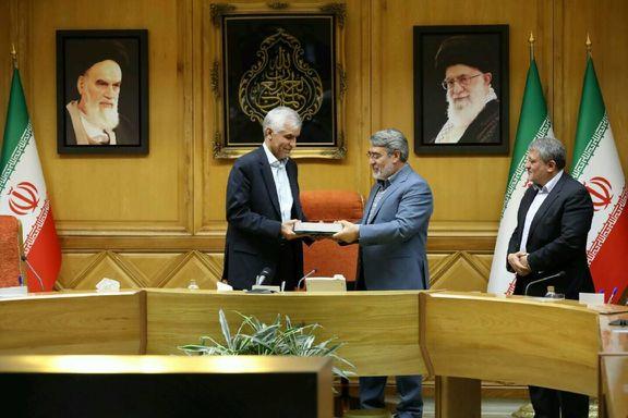 مراسم ابلاغ حکم شهردار تهران برگزار شد