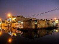 طغیان فاضلاب در خیابانهای شهر کوت عبدالله +عکس