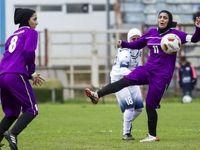 لیگ برتر فوتبال بانوان +عکس