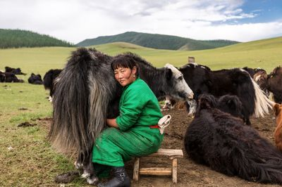 زندگی روستایی زن مغول از نگاه نشنال جئوگرافیک +عکس