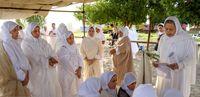 سال جدید پیروان حضرت یحیی(ع) در کنار کارون +تصاویر