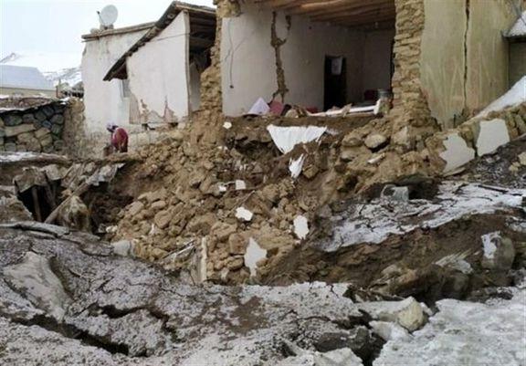 بیش از ۳هزار واحد مسکونی در زلزله «قطور» خسارت دید