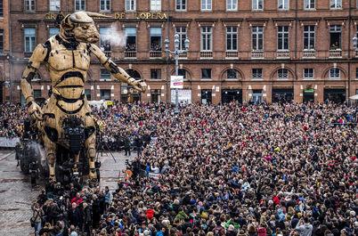 رونمایی از بزرگترین رباتهای جهان