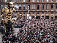 رونمایی از بزرگترین رباتهای جهان +تصاویر