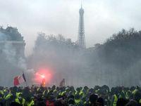 آشوب های فرانسه و کاهش گردشگران