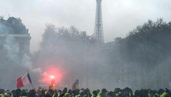جدیدترین تصاویر از درگیریها در فرانسه