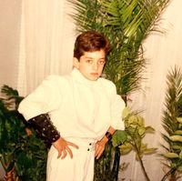 ژست خاص بهرام رادان در نوجوانی +عکس