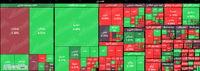 افت ۶هزار و ۳۰۰واحدی شاخص کل تا نیمه معاملات بازار/ ارزش معاملات بورس و فرابورس به بیش از ۹ هزار میلیارد تومان رسید