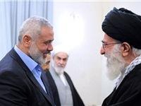 پیام تبریک «اسماعیل هنیه» خطاب به رهبر انقلاب اسلامی ایران