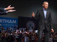 بازگشت اوباما به میدان سیاست +تصاویر