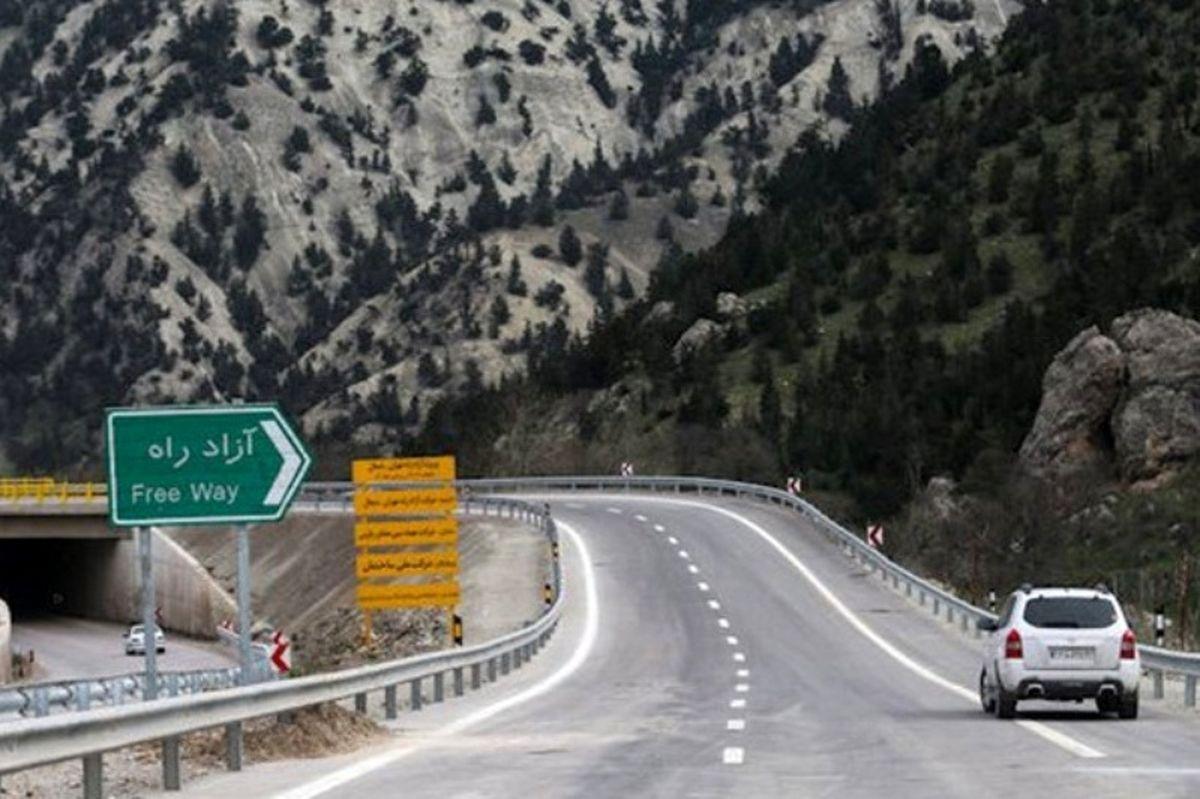 هزینه ساخت آزادراه تهران-شمال ۱۰ساله بازمیگردد