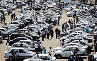 دلالان جمعه بازارها در کمین خودروها