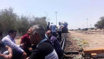 اعتصاب جمعی از مهمانداران قطار در راه آهن زاگرس اندیمشک