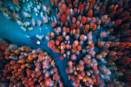 بهترین عکسهای هوایی در ۲۰۱۷ +تصاویر