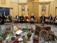 روحانی: تقویت روابط با همسایگان از سیاستهای اصولی دولت است/ سند همکاری ایران و جمهوری آذربایجان در دریای خزر در حوزه نفت و گاز امضاء میشود