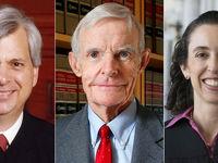 سه قاضی که روی فرمان ترامپ حکم خواهند داد +عکس