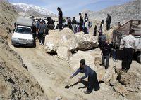 جلوگیری از عبور مسافران در خوزستان +عکس