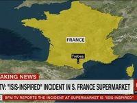 تیراندازی و گروگانگیری در جنوب فرانسه