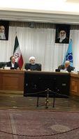 آغاز پنجاه و هفتمین مجمع بانک مرکزی با حضور روحانی