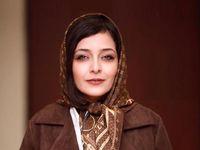 ژست ساره بیات در مقابل لنز دوربین +عکس