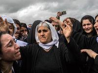 زنان ایزدی به دنبال سرپناه +تصاویر