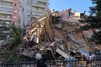 بیشاز ٢٠ساختمان در ازمیر بر اثر زلزله فرو ریخت