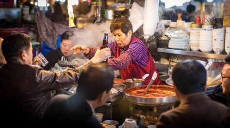 زنان شاغل در بازارهای کره جنوبی