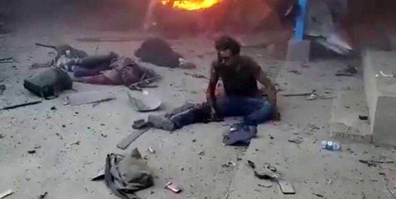 کاروان حامل خبرنگاران هدف حمله هوایی ترکیه قرار گرفت