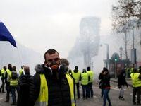 «جلیقه زردها» برای دهمین هفته به خیابانها آمدند
